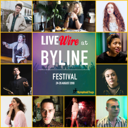 LIVEwire at Byline 2018 500² Yellow