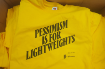 Pessimism Is For Lightweights t-shirt | Nymphs & Thugs
