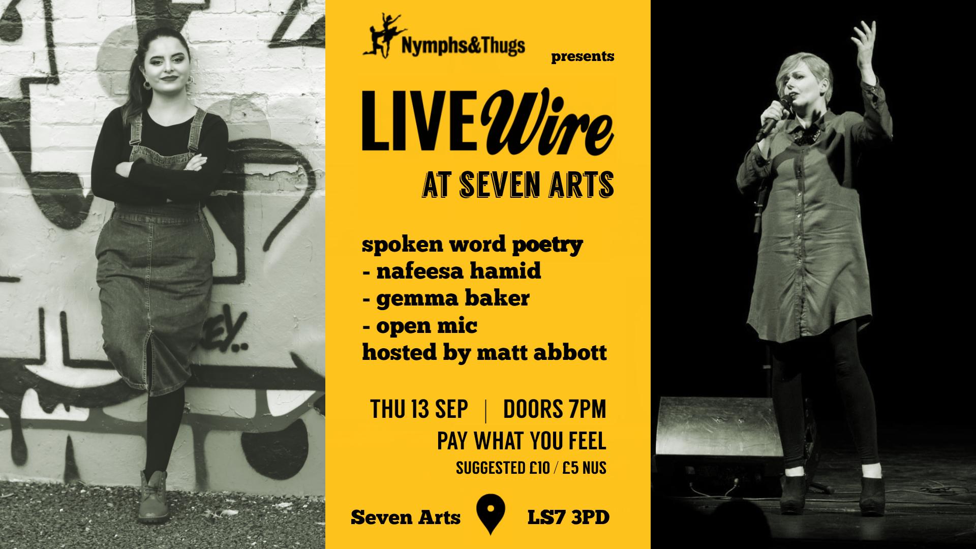 LIVEwire at Seven Arts