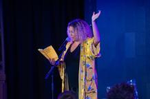Salena Godden | Image by Alan McCredie for Edinburgh International Book Festival