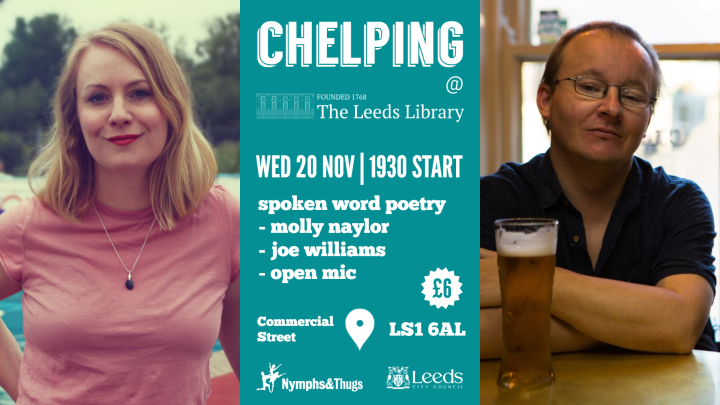 Nymphs & Thugs | Chelping at The Leeds Library